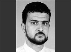 This image from the FBI Web site shows al Qaida leader Abu Anas al-Libi. Al-Libi, who was captured in a U.S. raid and held aboard a U.S. warship.