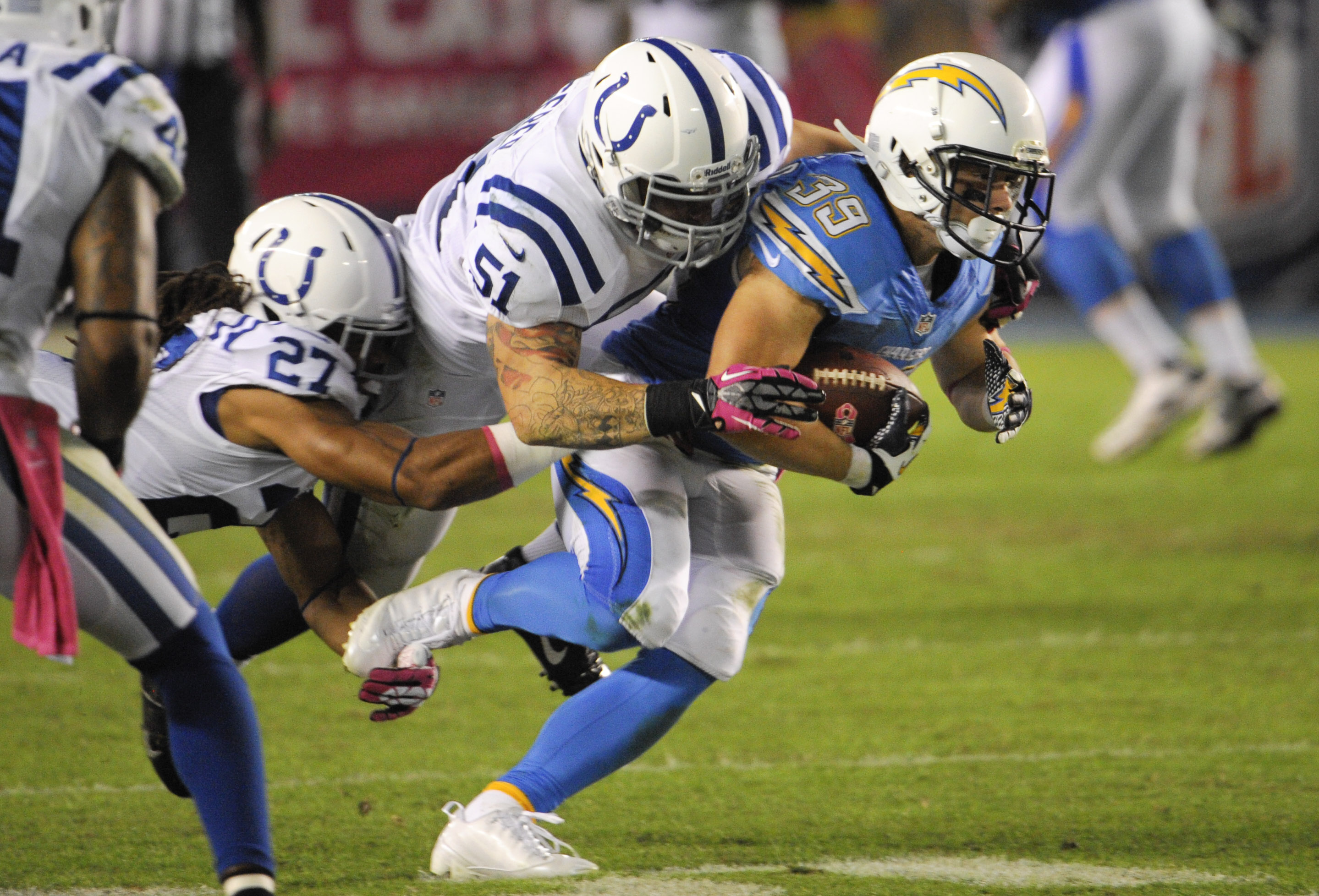 Rivers Novak Lead Chargers To 19 9 Win The Blade