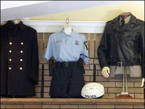 TPD uniforms on exhibit at The Toledo Police Museum. In 2006, Toledo police tied with the Tulsa, Okla., police department for having the best uniforms among departments with more than 200 officers in a competition sponsored by a uniform-industry trade group.