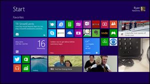 A prerelease version of Windows 8.1 is shown on a tablet. Microsoft launched its Windows 8.1 upgrade as a free download this week. It addresses some of the complaints people had with Windows 8.