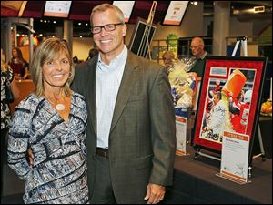 Bob and Laurie Schoonmaker during The Bash Saturday, Oct. 12, 2013, at Imagination Station in Toledo.
