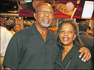 Ron and Patricia Hogue during The Bash.