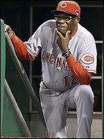 Dusty Baker was fired after the Reds lost to the Pirates in the wild-card playoff.