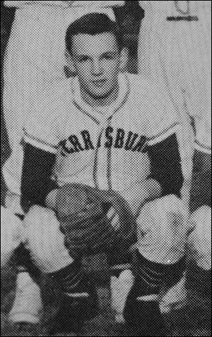 Jim Leyland was a star baseball player at Perrysburg and was also a leader on the basketball and football teams.