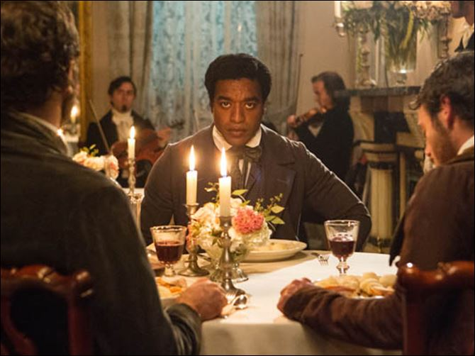 Film Review 12 Years a Slave Chiwetel Ejiofor in a scene from