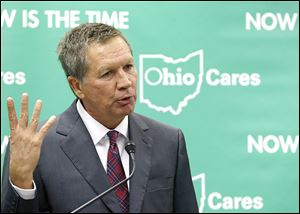 Ohio Gov. John Kasich took his expansion request to the controlling board after the General Assembly did not act on it.