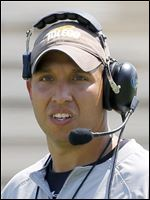 University of Toledo head football coach Matt Campbell.