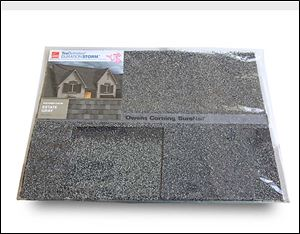 The company's higher-end shingles are said to reflect sunlight to minimize heat that is absorbed by roofs.