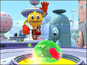 A scene from Pac-Man and the Ghostly Adventures
