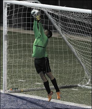 Anthony Wayne goalkeeper Austin Kaminski has allowed just seven goals for the 15-0-4 Generals, who shared the NLL title with Northview.
