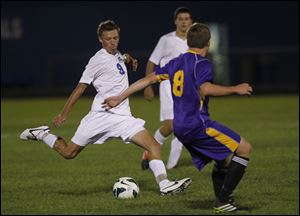 Anthony Wayne senior J.J. Fortner, a center midfielder, has five goals and a team-high 16 assists.