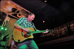 Local musician Zak Ward will perform Tuesday at Papa's Tavern.
