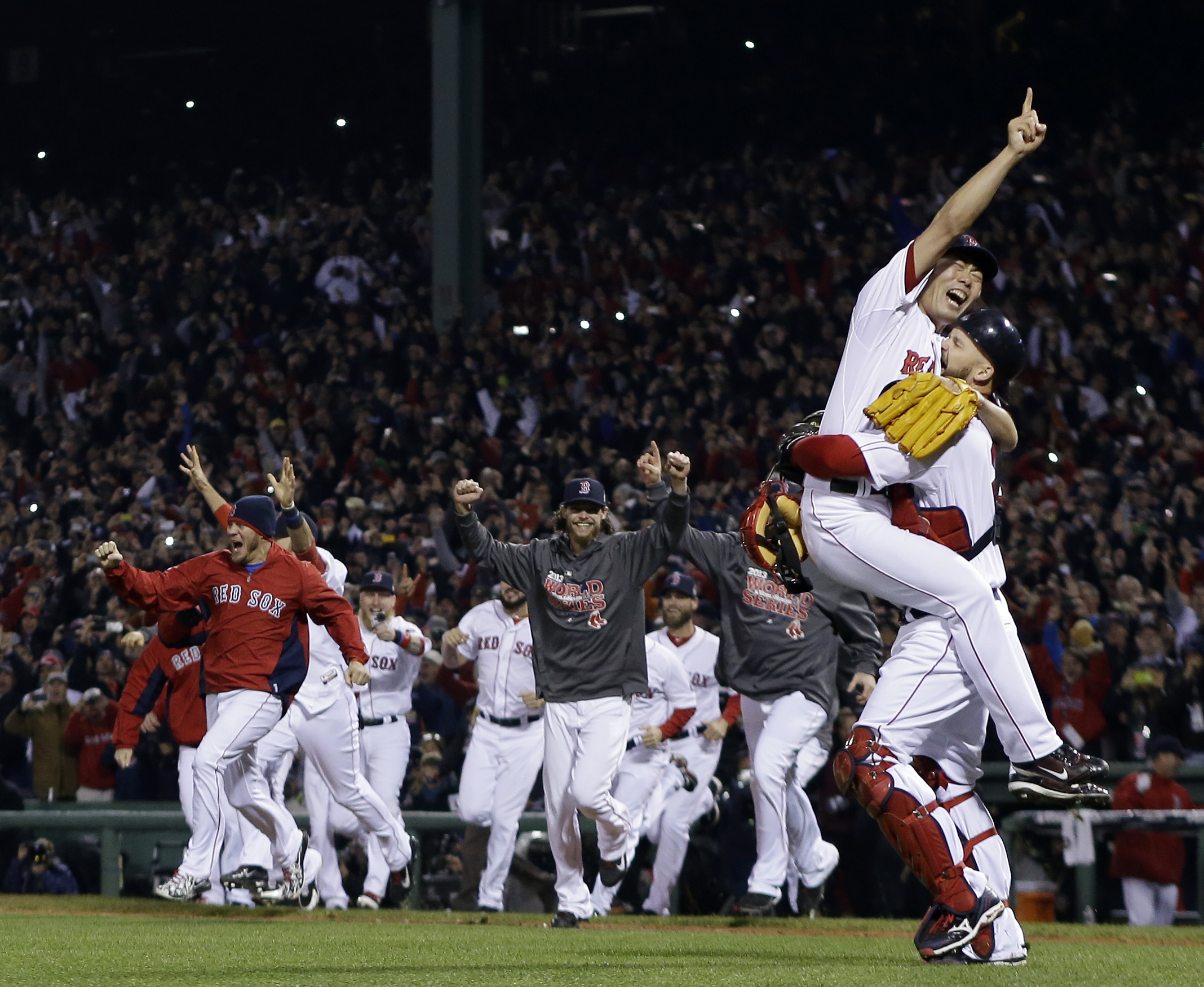 Image result for boston red sox win their first world series since 1918
