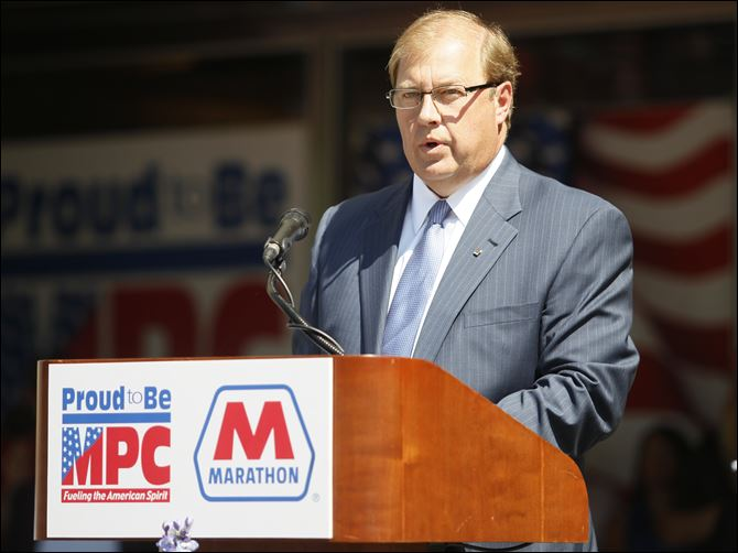 CTY kasich30p Marathon Petroleum Company Chief Executive Officer Gary Heminger.