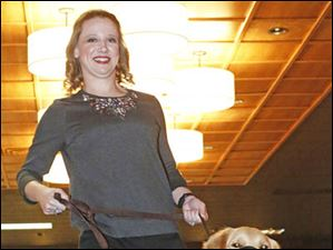 Amanda Bell hits the catwalk during this year's Ability Center Fashion Show