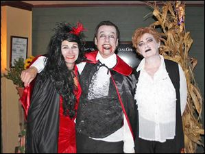 Paula Hanigosky, Michael Phillips, Jeani Striggow were vampires and zombies.