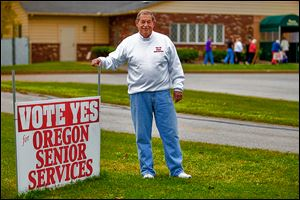 Oregon Senior Center Board Chairman Bob Marquette says the most pressing need at the moment is for a new van to assist seniors.  A five-year, 0.5-mill tax levy for the center will be on Tuesday's ballot.