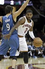 Timberwolves-Cavaliers-Basketball
