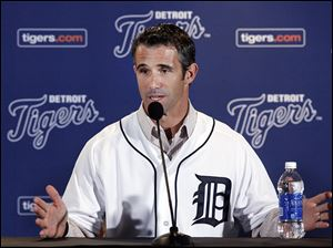 Brad Ausmus, 44, played 18 seasons as a catcher in the major leagues, including three (1996, 1999-2000) with  Detroit. He has never been a manager.