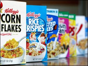 Kellogg's cereal products.