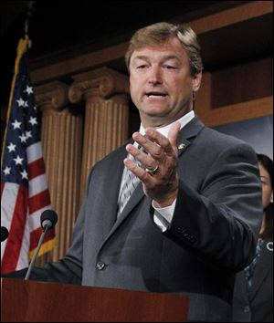 "Major gay rights legislation is set to clear the first hurdle in the U. S Senate Monday. Republican Sen. Dean Heller of Nevada announced his support today, saying in a statement that the measure ""raises the federal standards to match what we have come to expect in Nevada, which is that discrimination must not be tolerated under any circumstance."""