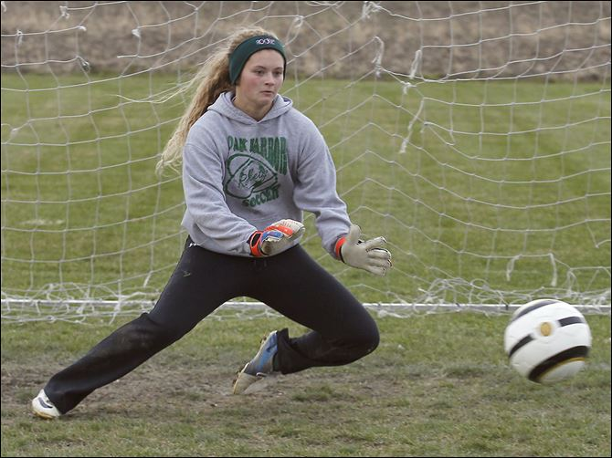 s3martin-1 Oak Harbor junior goalkeeper Ivy Martin has 11 shutouts this season for the 19-1-1 Rockets, who won a Division III regional championship.