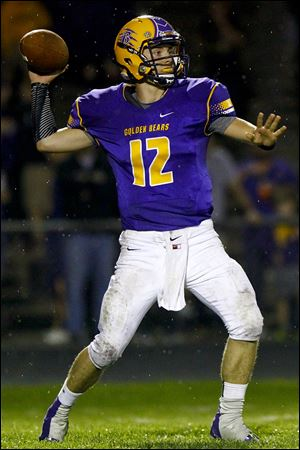 Bryan senior Austin Schimmoeller has thrown for 1,968 yards and 26 touchdowns and rushed for 523 and 12 TDs.