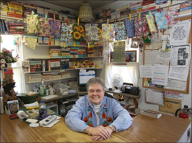 0001010100000400000 Barbara Kerschner will be retired as of Dec. 1, bringing to an end the 32-year-long run of Munchkin Book Store just east of Swanton on Airport Highway.