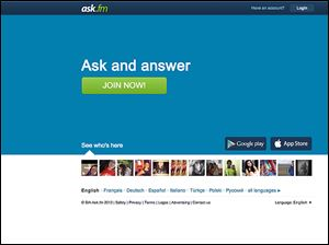 Users can ask and answer questions about each other on the site.