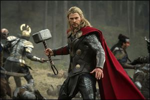 Chris Hemsworth in a scene from