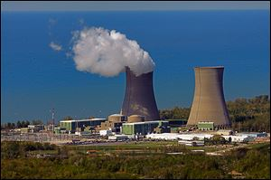 At the Perry nuclear plant, east of Cleveland, FirstEnergy Corp. is moving ahead with plans to apply for a 20-year license extension in 2015. Perry's license expires March 18, 2026.