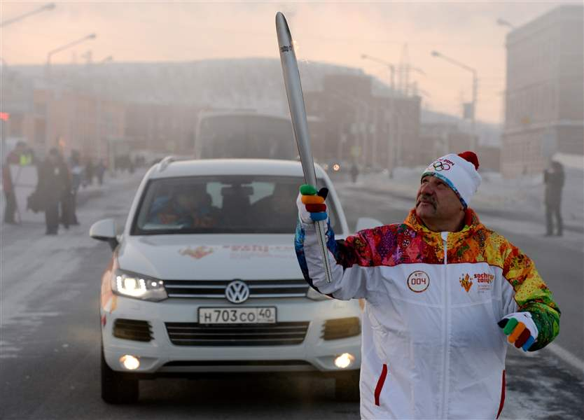 Russia-Sochi-Torch-Relay