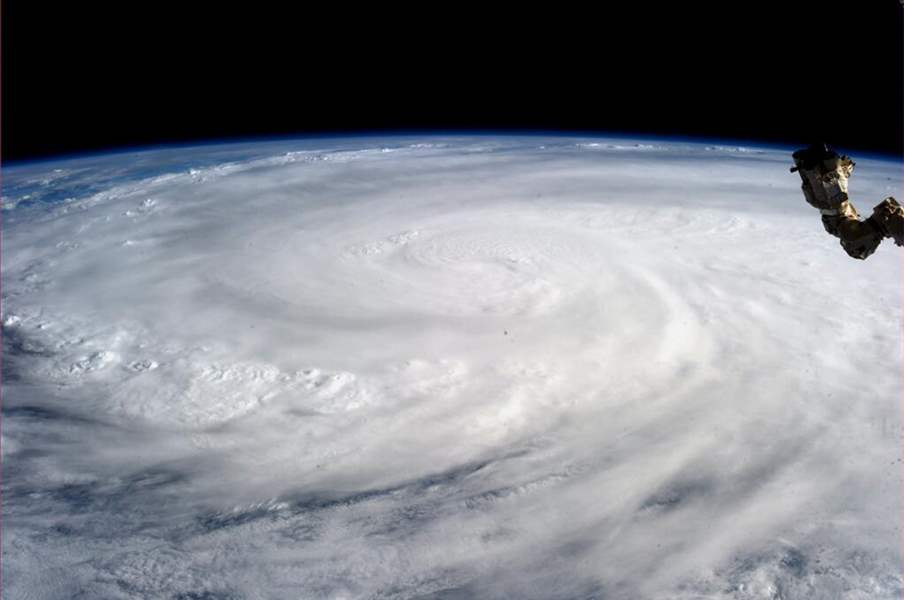 Philippines-Typhoon-Space-Station