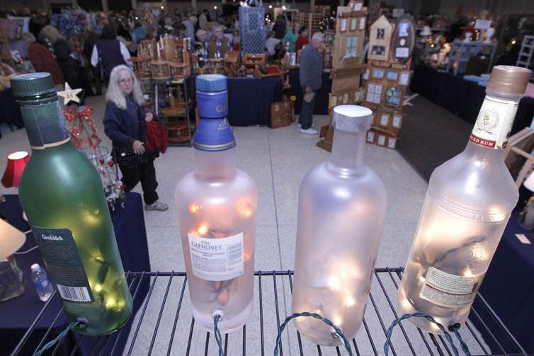 Craft-fair-wine-bottles