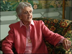 Actress Angela Lansbury portrayed fictional mystery writer Jessica Fletcher in the TV show 'Murder, She Wrote.'
