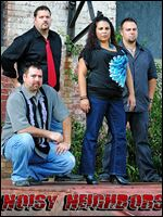 Local rock band Noisy Neighbors will perform Friday at Bar 145.