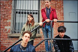 Indie-rock band Beach Fossils from Brooklyn, N.Y., will play at Ottawa Tavern on Saturday.