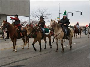 The 4-H Youth Equestrian Club in the parade.