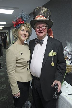 Judy and Bob Moran pictured during the Toledo Opera