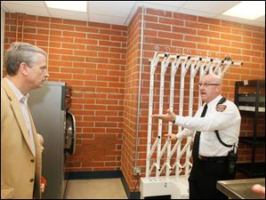 Sylvania Township's Fire Station No. 1 hosted an open house to celebrate the recently opened facility.