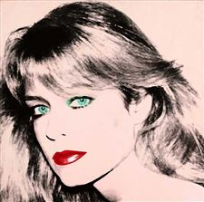 Warhol-s-portrait-of-Farrah-Fawcett