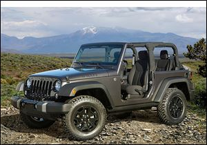 The Willys Wheeler, a special-edition Jeep Wrangler, is expected to go on sale early next year.