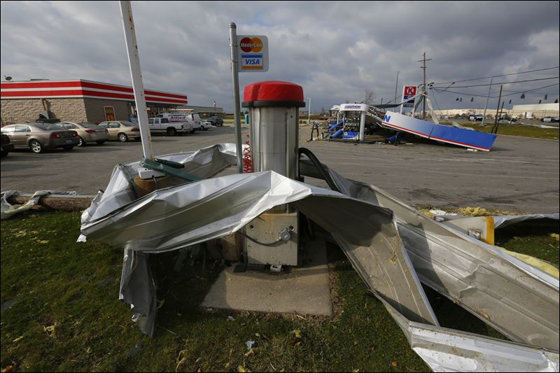 Three Tornadoes Confirmed During Strong Storms Sunday