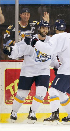 Jason Lepine returned to the Walleye after playing overseas for the last two seasons.