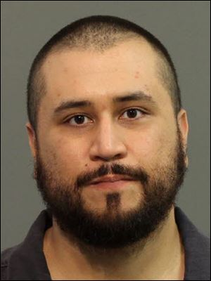 Former neighborhood watch volunteer George Zimmerman after he was arrested Monday in Apopka, Fla.