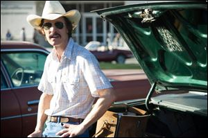 Matthew McConaughey plays Ron Woodroof in Jean-Marc Vallee's fact-based drama, 'Dallas Buyers Club.'