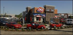 This June 20, 2007 photo shows a Dairy Queen restaurant in Anchorage, Alaska.   Anchorage has long been off the beaten path for national restaurant chains because of the higher costs and logistics associated with running a restaurant here.  But in the past few years, more chains are finding Anchorage a good place to expand.  Hoping to take a bite out of the local market, Olive Garden and Buffalo Wild Wings have opened locations in the past few years. For months, people stood in lines in the bitter Alaska winter waiting for a table at Olive Garden.  And more are coming. Next year, the city will get its first Texas Roadhouse restaurant and a Hard Rock Cafe, soon followed by Krispy Kreme doughnut shops.  (AP Photo/The Anchorage Daily News, Bob Hallinen)  LOCAL TV OUT (KTUU-TV, KTVA-TV) LOCAL PRINT OUT, THE ANCHORAGE PRESS OUT, THE ALASKA DISPATCH OUT EV-SHARE)Ê (ONLN OUT; IONLN OUT - MBI)
