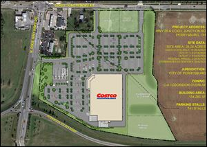 Costco Plan at Eckel Junction and N. Dixie Hwy.