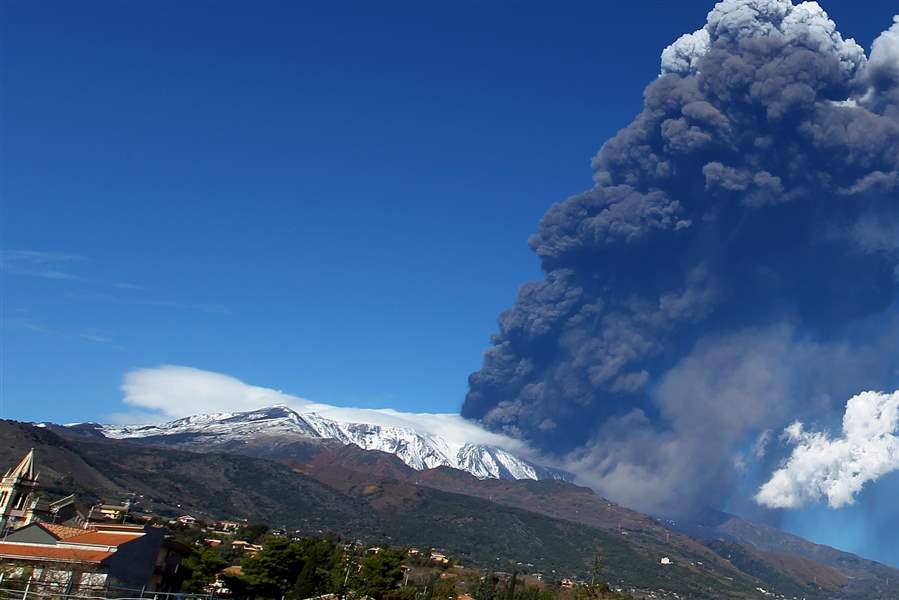 Italy-Etna-Volcano-Eruption