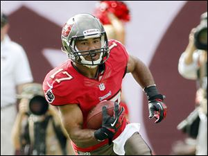 Tampa Bay Buccaneers wide receiver Eric Page ranks seventh in the NFL on kickoff returns this season, averaging 26.6 yards. The former Springfield High and University of Toledo star also averages 11.2 yards per punts.